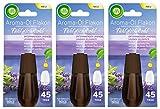 Air Wick Aroma-Öl Flakon Entspanneder Lavendel 3er Pack (3 x 20ml), Nachfüller für Aroma-Öl...