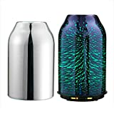TaoTronics Aroma Diffuser 3D Glas Aromatherapie Humidifier 200ml Diffuser Duftlampe Luftbefeuchter...