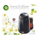 Air Wick Aroma Diffuser Starter Set, Aroma Öl-Diffuser inklusive Duftflakon Weiße Blüten mit...