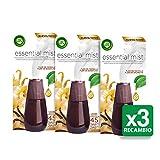 Air Wick Essential Mist Ersatz-Vanilleblüten-Lufterfrischer - Packung mit 3 Ersatzteilen