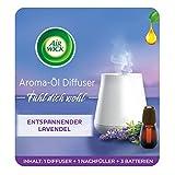 Air Wick Aroma-Öl Diffuser – Starter Set mit Diffuser und Duft-Flakon – Batteriebetrieben –...