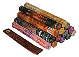 Hem - Räucherstäbchen 7er-Set aus Indien - Gemischte Düfte + Räucherstäbchenhalter