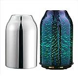 TaoTronics Aroma Diffuser 3D Glas Aromatherapie Humidifier 200ml Diffuser Duftlampe Luftbefeuchter...