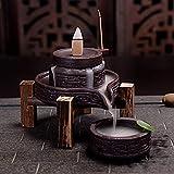 Keramik Räuchergefäß, Räucherkegel, Rückflussbrenner, Porzellan, Zuhause, Büro, Teehaus-Dekor...
