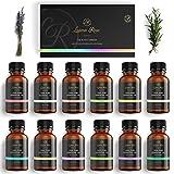 Luana Rose Ätherische Öle Set - 12x Duftöle 100% Naturrein für Diffuser - Aromatherapie Aroma...