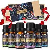 Ätherische Öle Set, Luckyfine Essential Oil für Aromatherapie Duftöl/Diffuser, 6X10 ml...