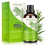 Teebaumöl 100% Pure Natürrein 100ML - Tea Tree Oil für Shampoo Gesicht Körper, Anti Pickel, Akne...