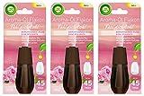 Air Wick Aroma-Öl Flakon Beruhigende Rose 3er Pack (3 x 20ml), Nachfüller für Aroma-Öl Diffuser