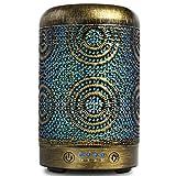SALKING Aroma Diffuser Luftbefeuchter Humidifier, Handgefertigt Metall Diffusor für ätherische...