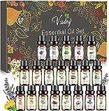 Ätherische Öle GeschenkSet, 20x10ml 100% Naturrein Essential Oils Aromatherapie Duftöl Set für...