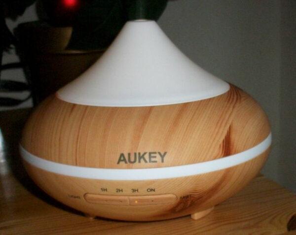AUKEY Aroma Diffuser 200ml mit 7 Farben und Timer