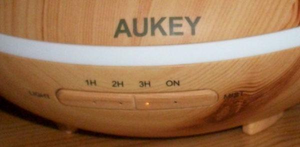 AUKEY Aroma Diffuser Taster für Licht und Timer
