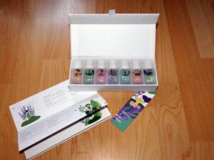 Homasy Seven+ Aromatherapie Duftöl Set Lieferumfang