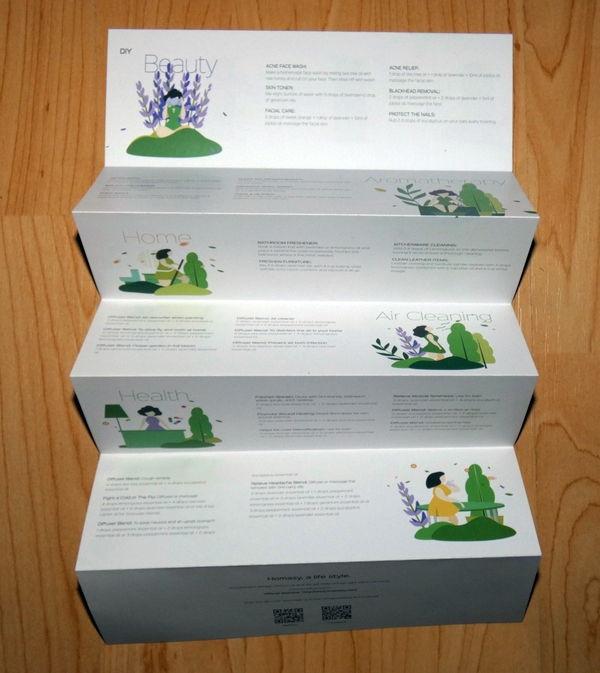 Anwendungsbeispiele für das Homasy Seven+ Aromatherapie Duftöl Set