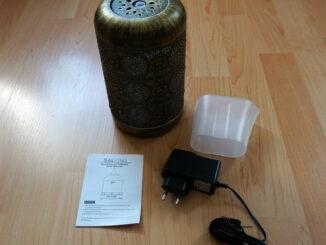 SALKING Aroma Diffuser 260ml Metall Lieferumfang