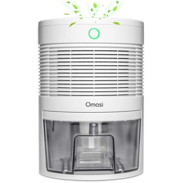 Luftfeuchtigkeit senken mit dem Luftentfeuchter von Omasi mit 600 ml